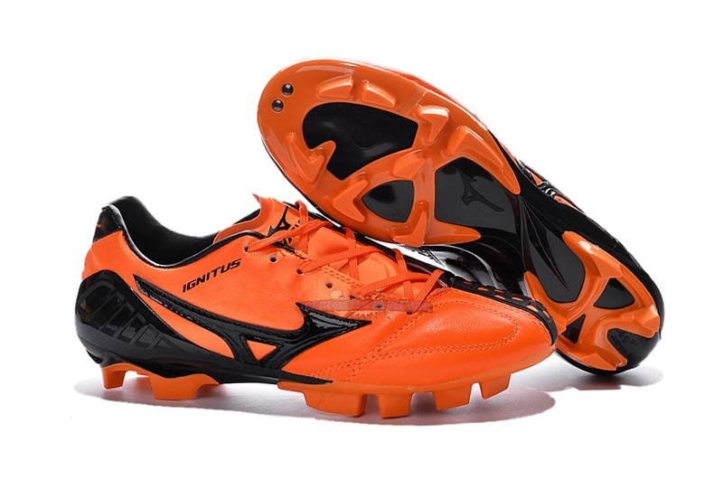 Ventes Mizuno MD Noir Orange