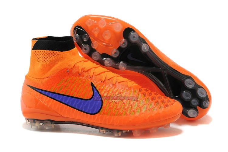 Ventes Nike Magista Obra AG Orange Bleu