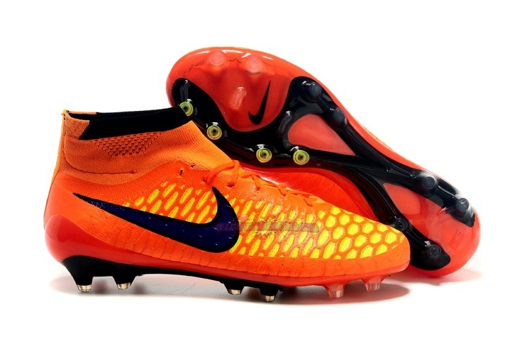 Ventes Nike Magista Obra FG Orange Noir