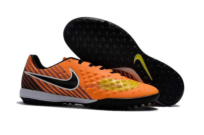 Ventes Nike Magista Orden II TF Orange Noir