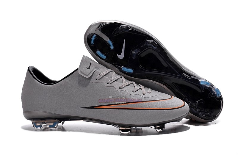 Ventes Nike Mercurial Veloce CR7 FG Gris Rouge