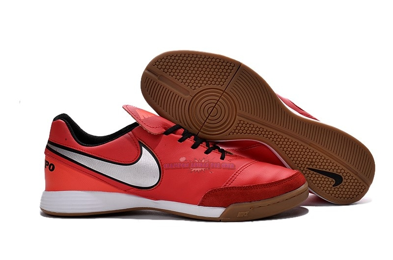 Ventes Nike Tiempo Mystic V IC Rouge