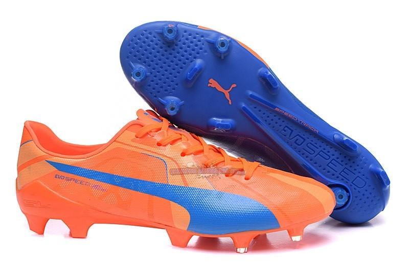 Ventes Puma evoPOWER FG Bleu Orange