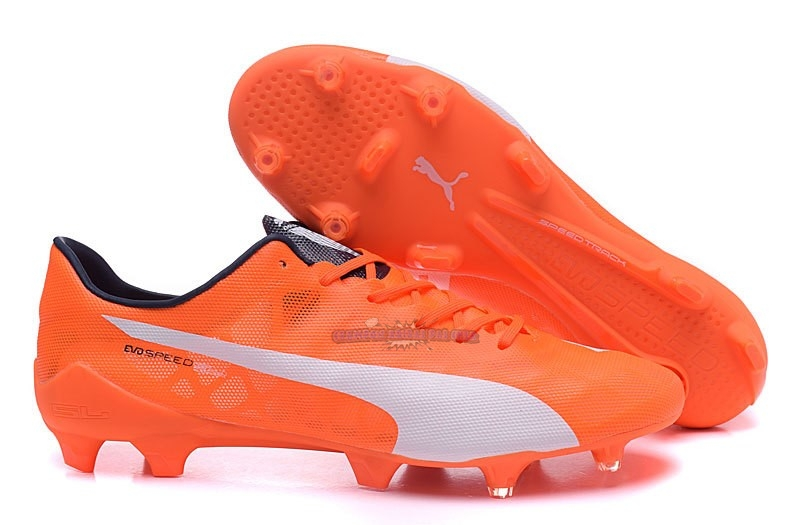 Ventes Puma evoPOWER FG Orange Blanc