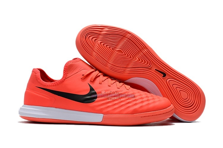 Ventes Nike MagistaX Finale II IC Orange Noir Blanc