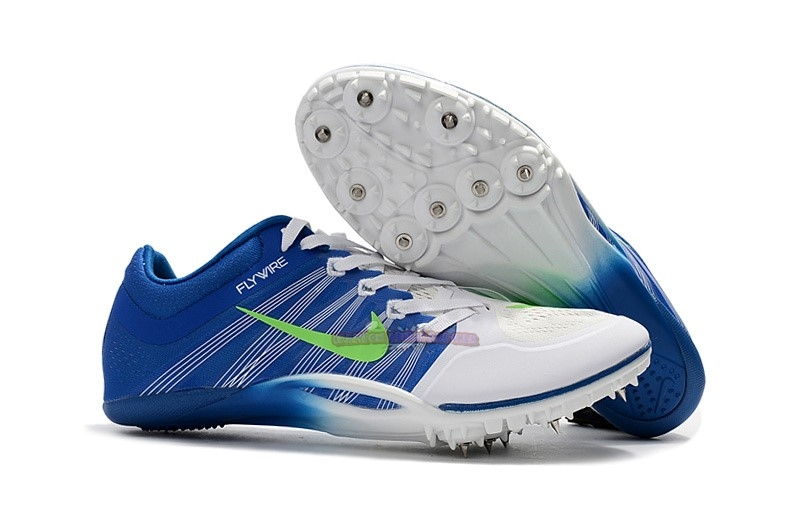 Ventes Nike Sprint Spikes Shoes SG Bleu Blanc