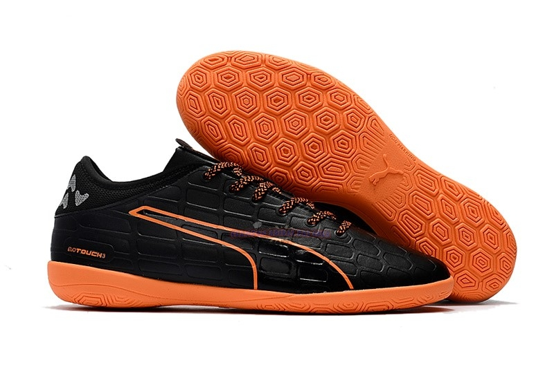Ventes Puma evoTOUCH 3 IC Noir Orange