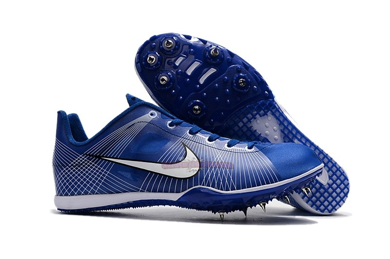 Ventes Nike Sprint Spikes Shoes SG Bleu