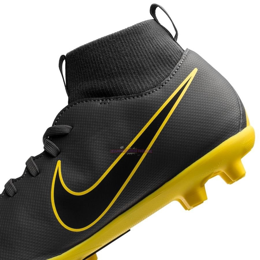 Ventes Nike Mercurial Superfly 6 Club Enfant MG Game Over Gris Jaune