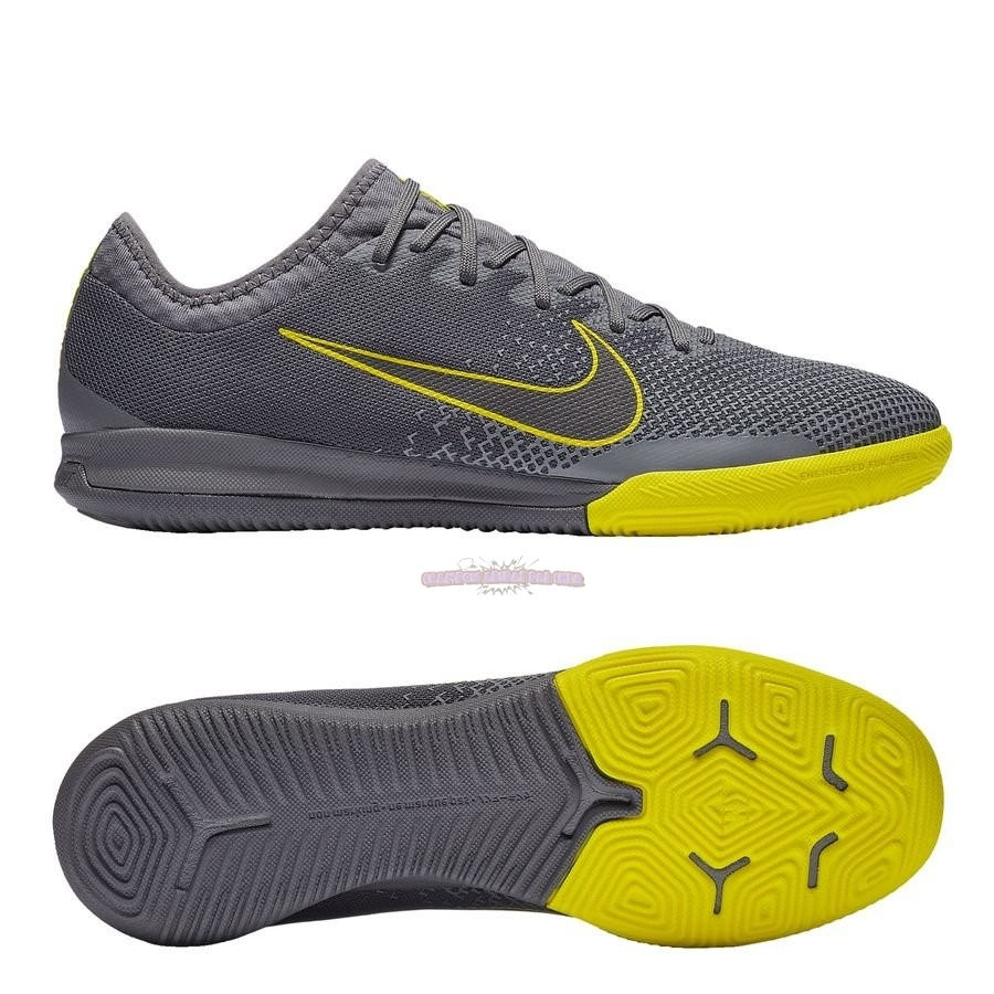 Ventes Nike Mercurial Vapor XI Pro IC Game Over Gris Jaune