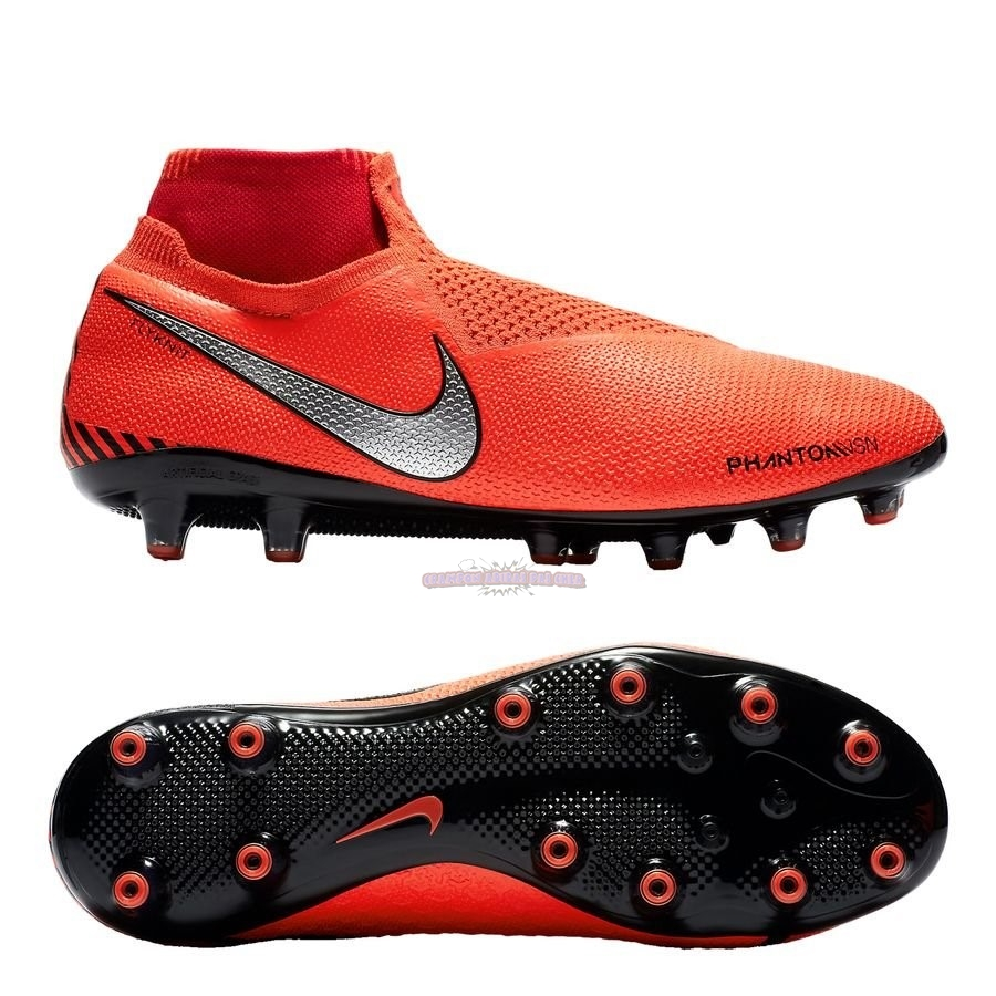 Ventes Nike Phantom Vision Elite DF AG PRO Game Over Orange