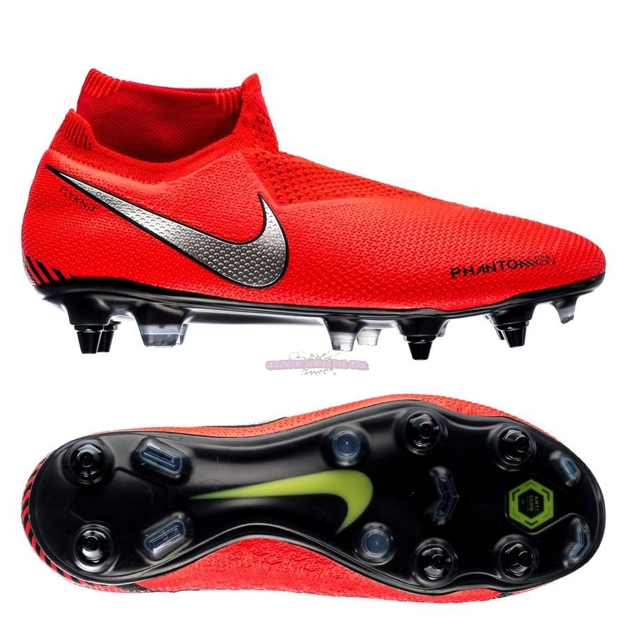 Ventes Nike Phantom Vision Elite DF SG PRO Anti Clog Game Over Rouge
