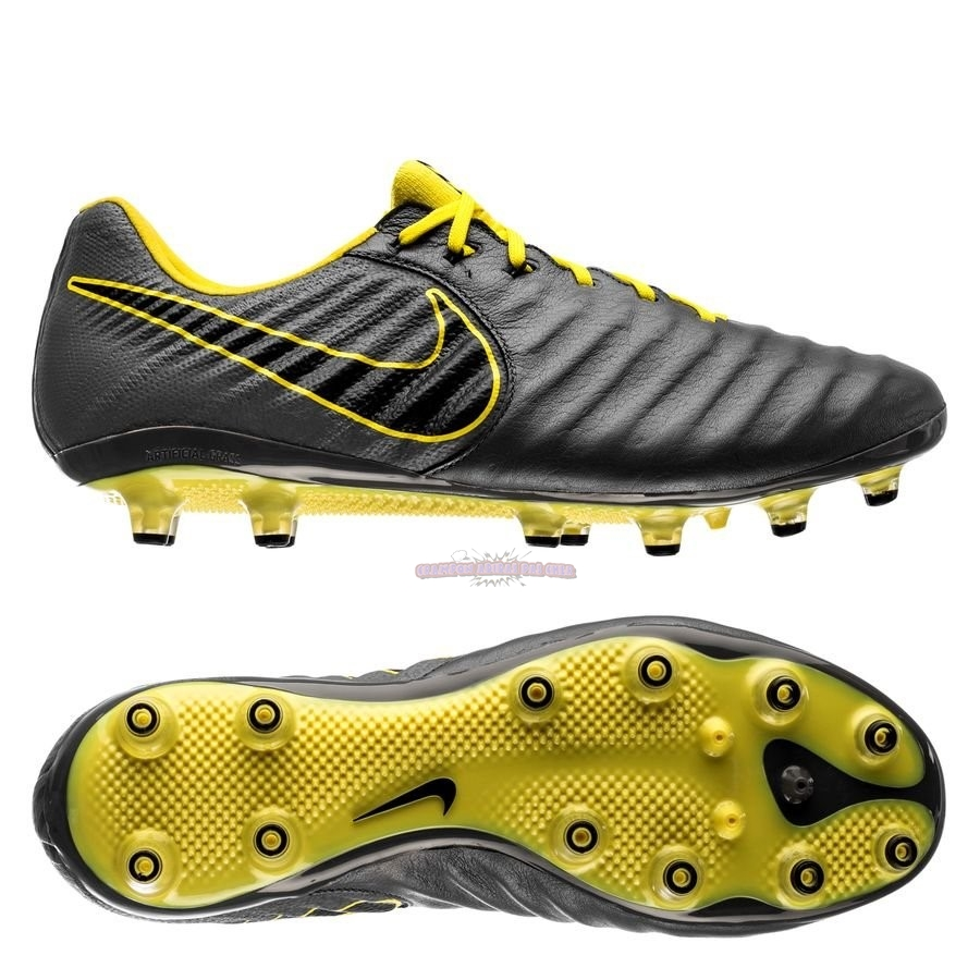 Ventes Nike Tiempo Legend VII Elite AG PRO Game Over Gris Jaune