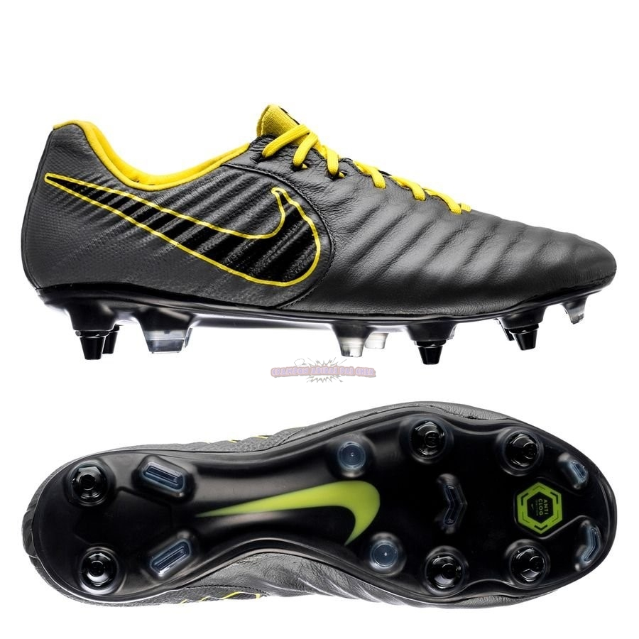 Ventes Nike Tiempo Legend VII Elite SG PRO Game Over Noir Jaune