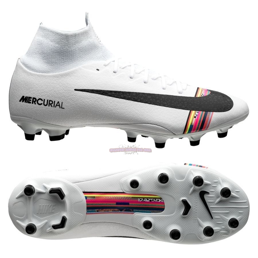 Ventes Nike Mercurial Superfly 6 Pro AG PRO LVL UP Blanc