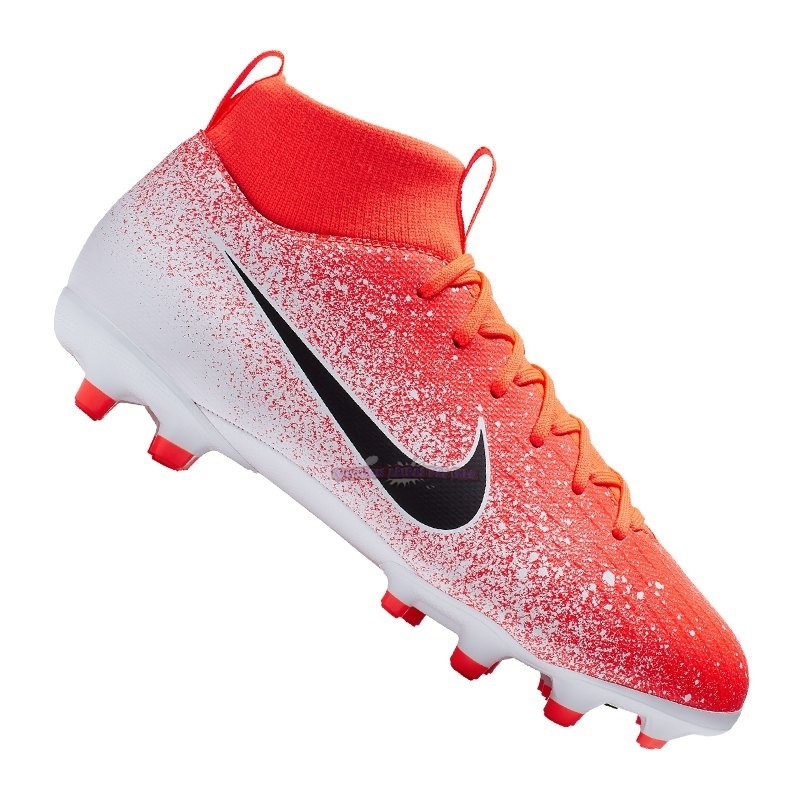 Ventes Nike Mercurial Superfly VI Academy Enfant MG Orange