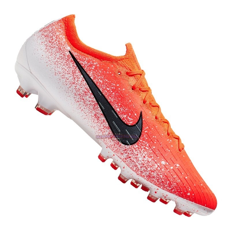Ventes Nike Mercurial Vapor XII Elite AG Pro Orange