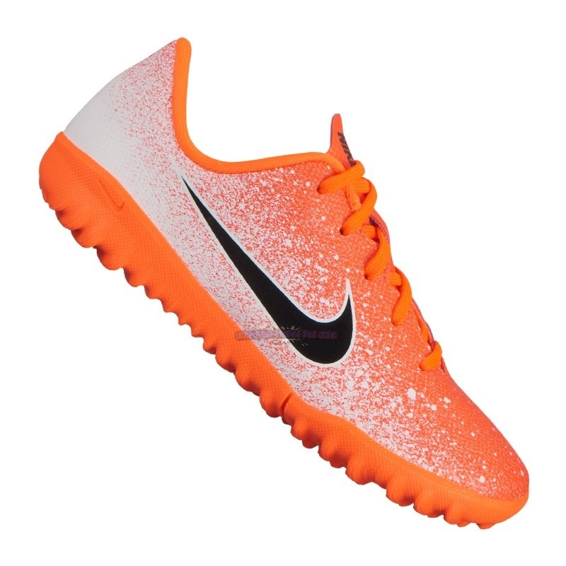 Ventes Nike Mercurial VaporX XII Academy Enfant TF Orange