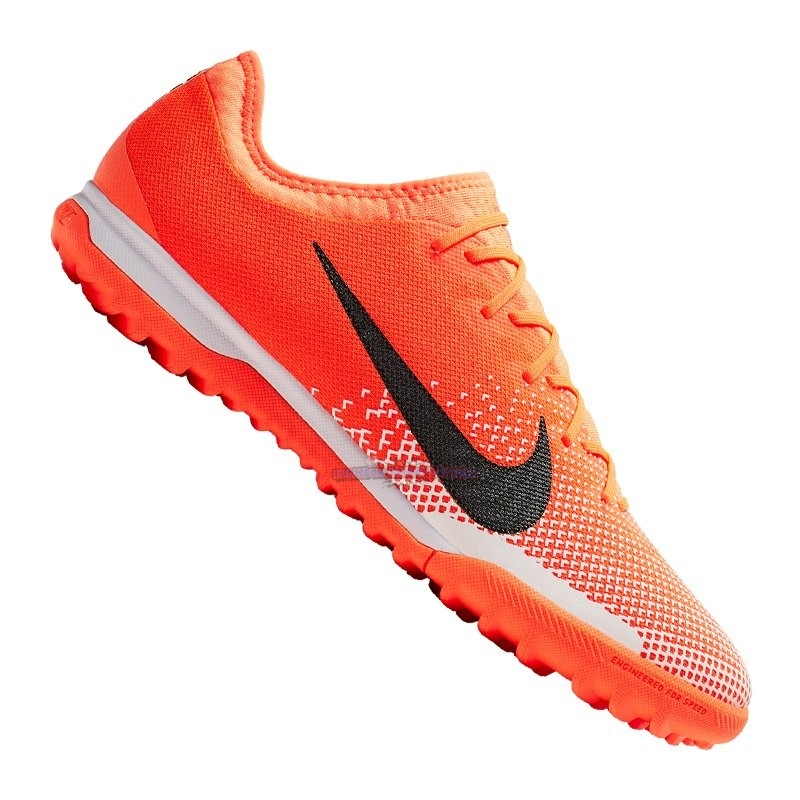 Ventes Nike Mercurial VaporX XII Pro TF Orange Noir