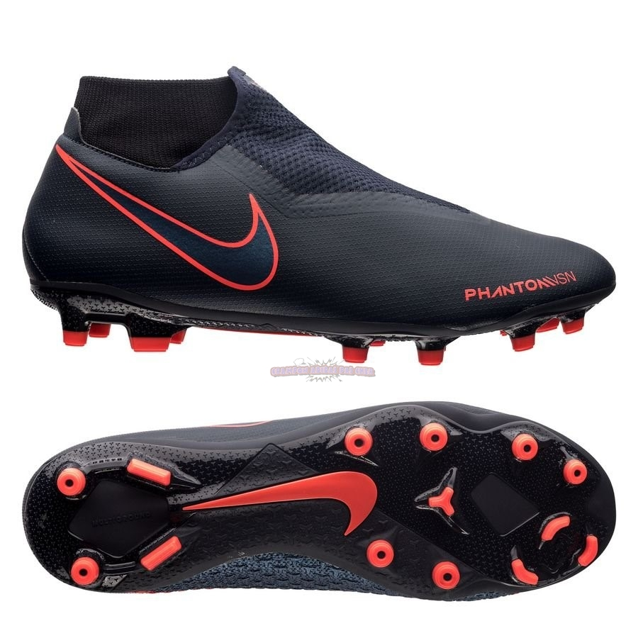 Ventes Nike Phantom Vision Academy DF MG Fully Charged Noir