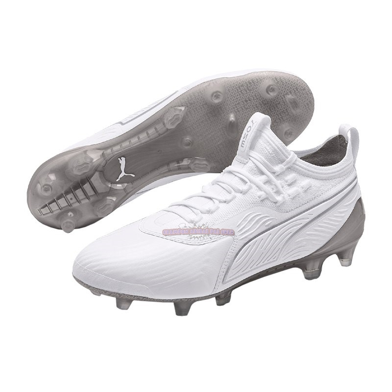 Ventes Puma One 19.1 Limited Edition FG Blanc