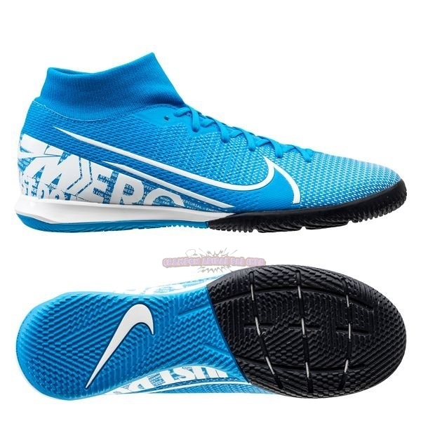 Ventes Nike Mercurial Superfly 7 Academy IC Bleu